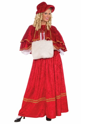Christmas Caroler Gown