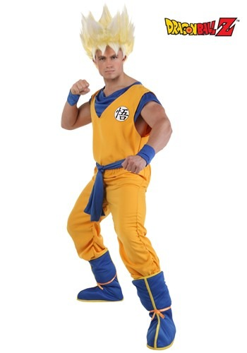 Adult Super Saiyan Goku Costume - $49.99