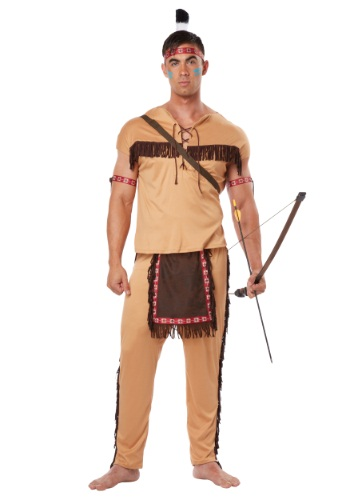 Adult Native American Brave Costume - $39.99