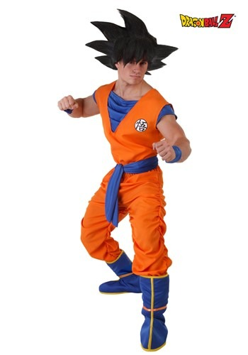 dragon ball z costumes for adults - Adult Goku Costume - $49.99