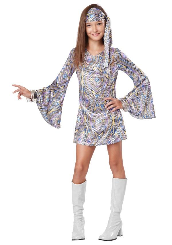 Child Disco Darling Costume
