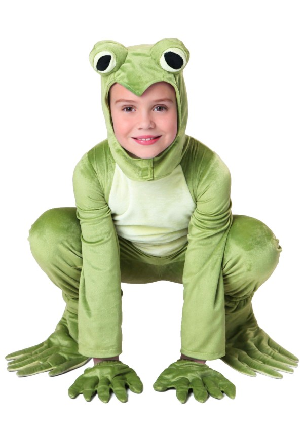 Child Frog Costume Deluxe