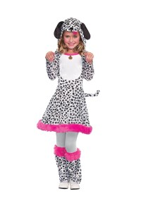 Girls Dalmatian Costume