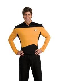 Star Trek: TNG Adult Deluxe Operations Uniform