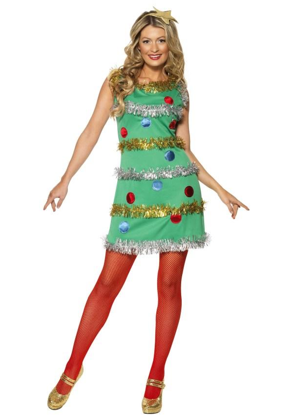 Christmas Tree Dress Costume Women