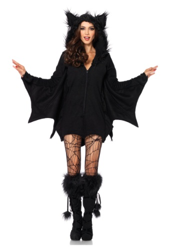 Cozy Bat Adult Costume