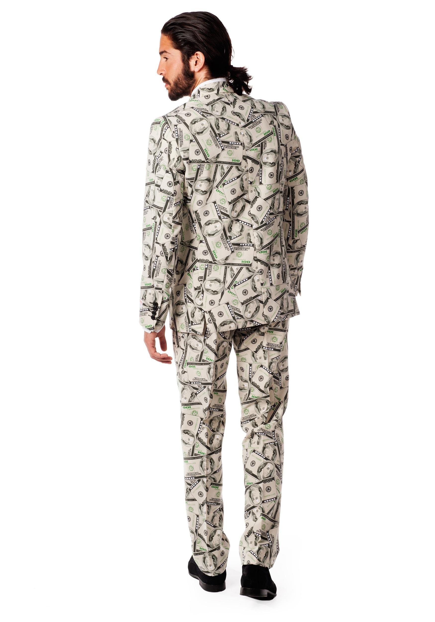Mens OppoSuits Money Suit