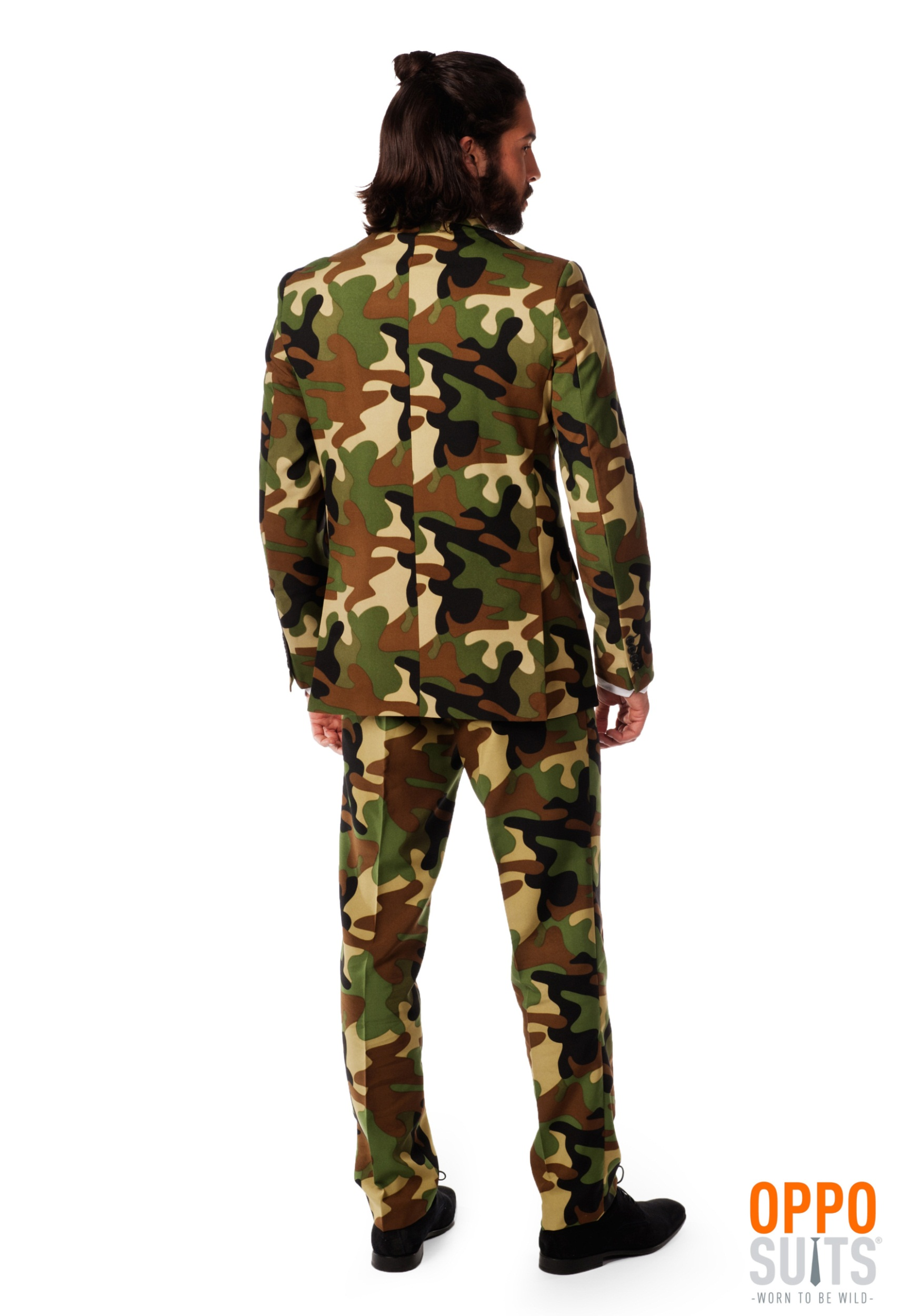 Mens OppoSuits Camo Costume Suit