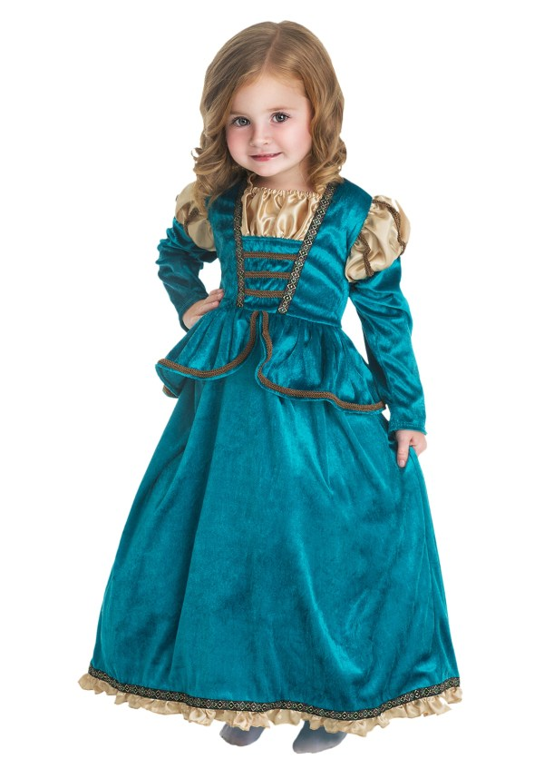 Girls Scottish Princess Costume