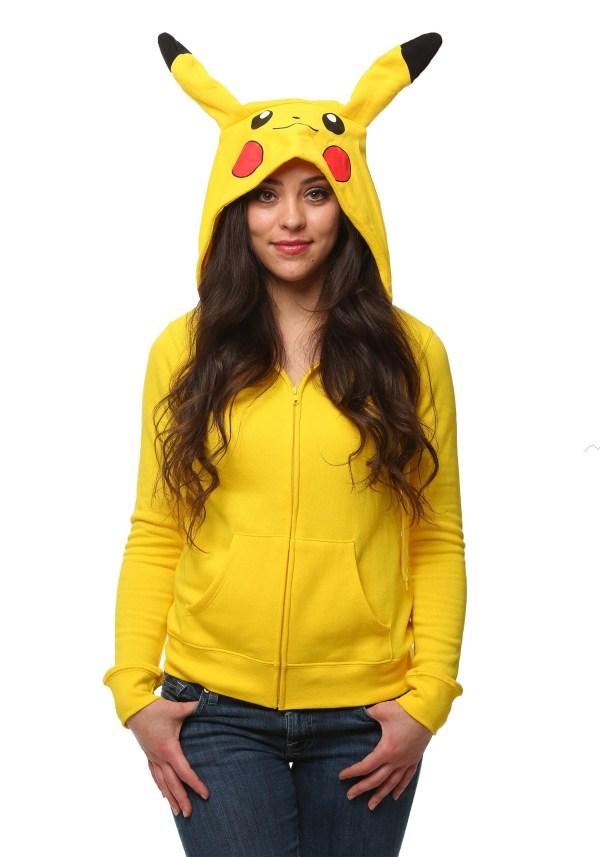 Pikachu Women' Pokemon Costume Hoodie