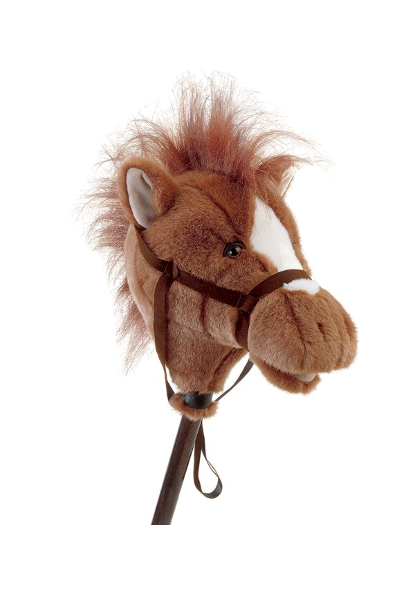 Easy Ride39Um Brown Horse 33quot Horse on a Stick