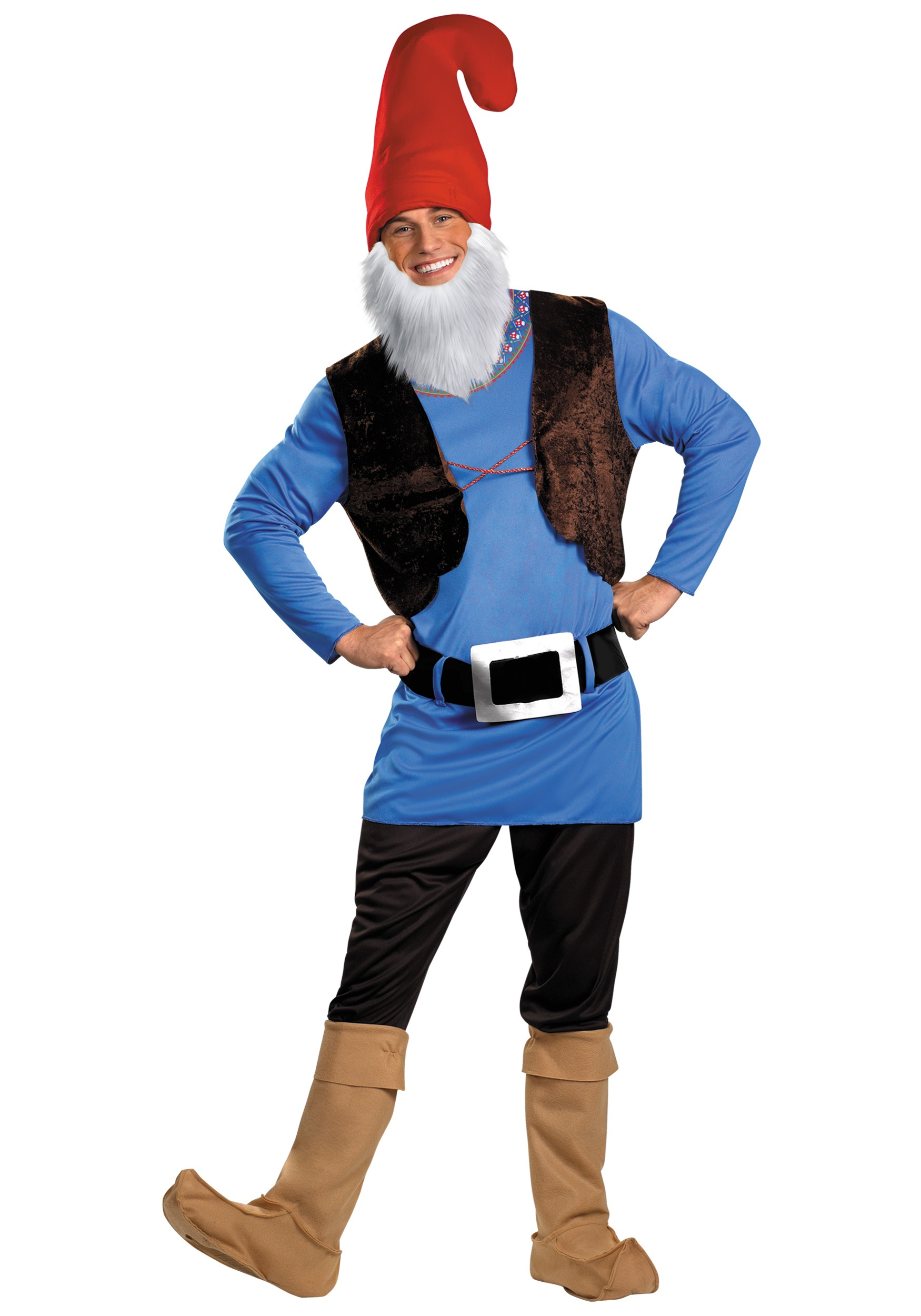 Plus Size Papa Gnome Adult Costume