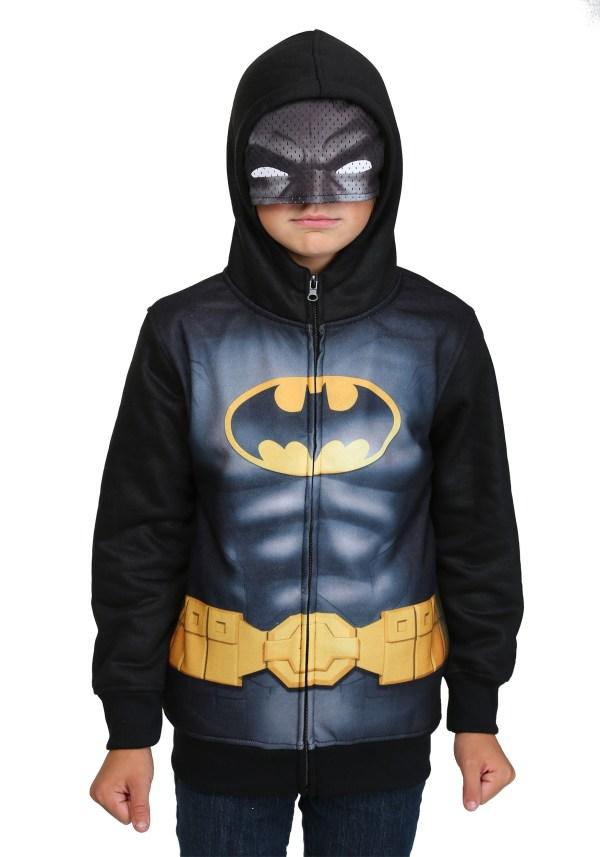Kids Batman Costume Hoodie