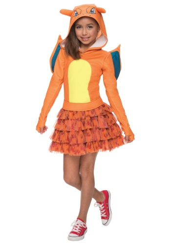 Girls Pokemon Charizard Costume - $39.99