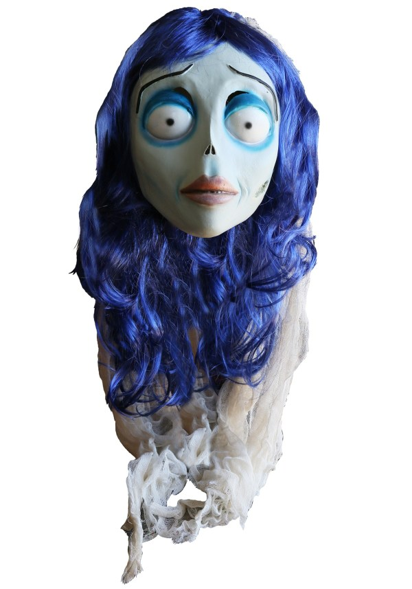Corpse Bride Adult Emily Mask