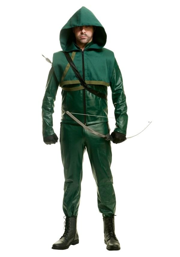 Men' Premium Arrow Costume