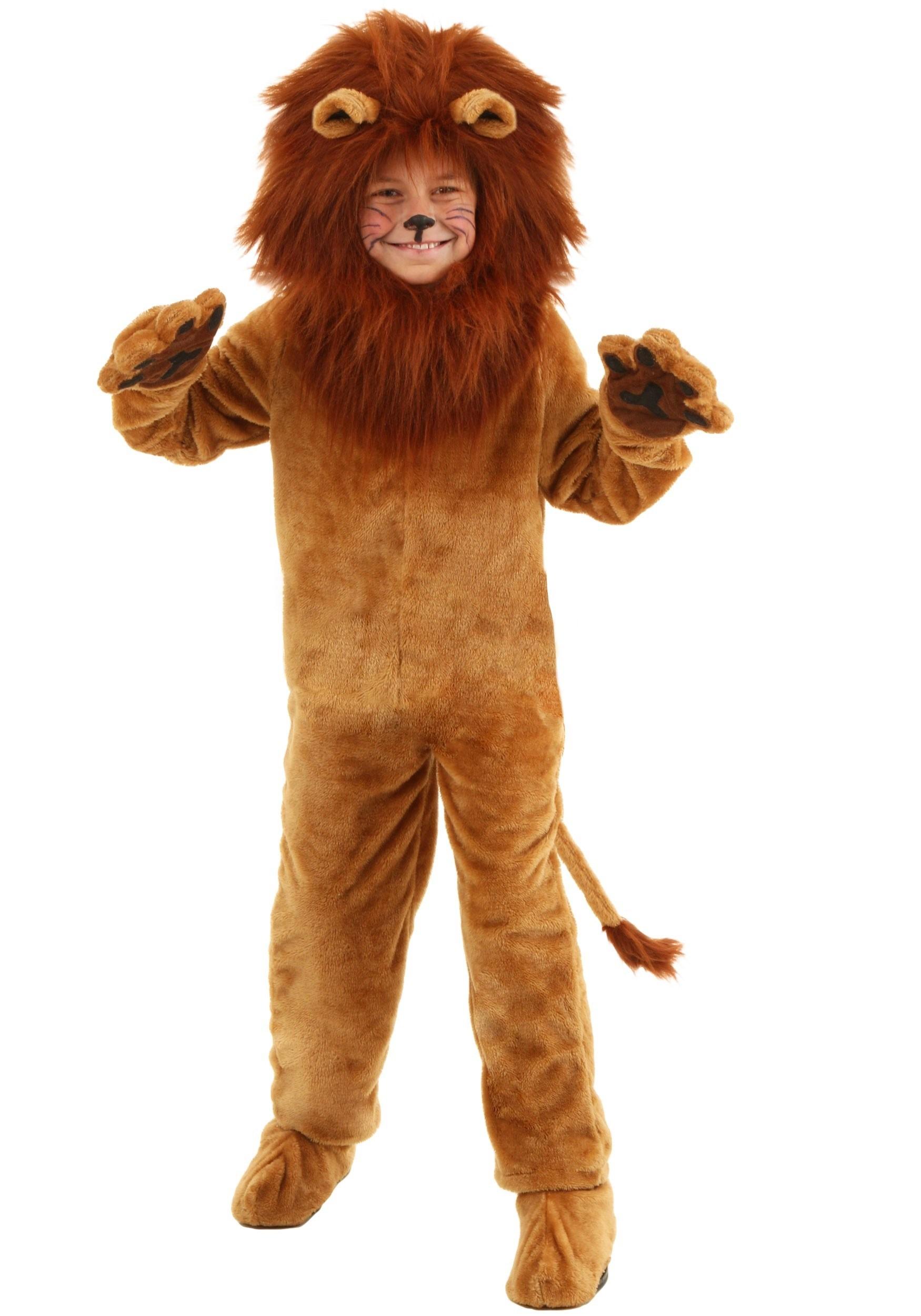 Deluxe Kids Lion Costume