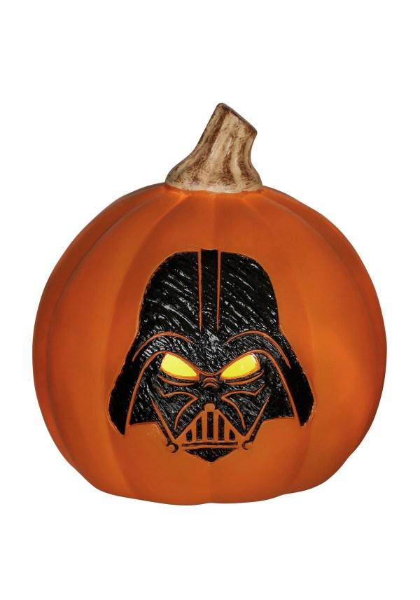 Star Wars Darth Vader Light- Orange Pumpkin