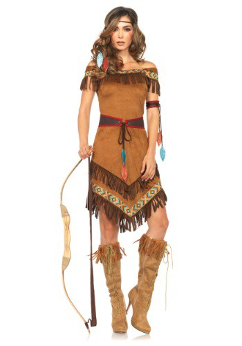 women's native american costumes