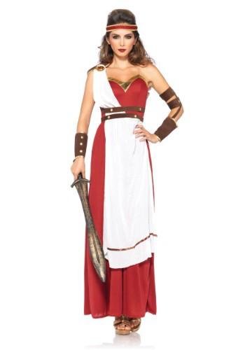 ... Womenu0027s Spartan Goddess Costume - $44.99  sc 1 st  Fancy Costume Madness : womens toga costumes homemade  - Germanpascual.Com