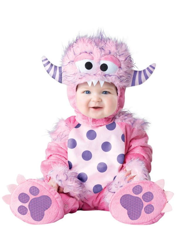 InfantToddler Lil Pink Monster Costume