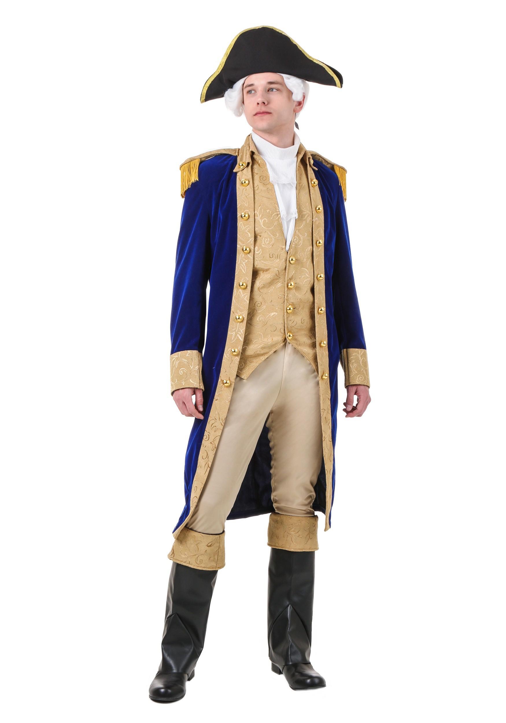 George Washington Costume For Adults