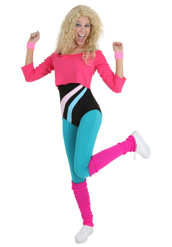 80s Costume Workout Clothes For Women