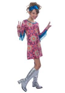 Girls Hippie Costume for Kids