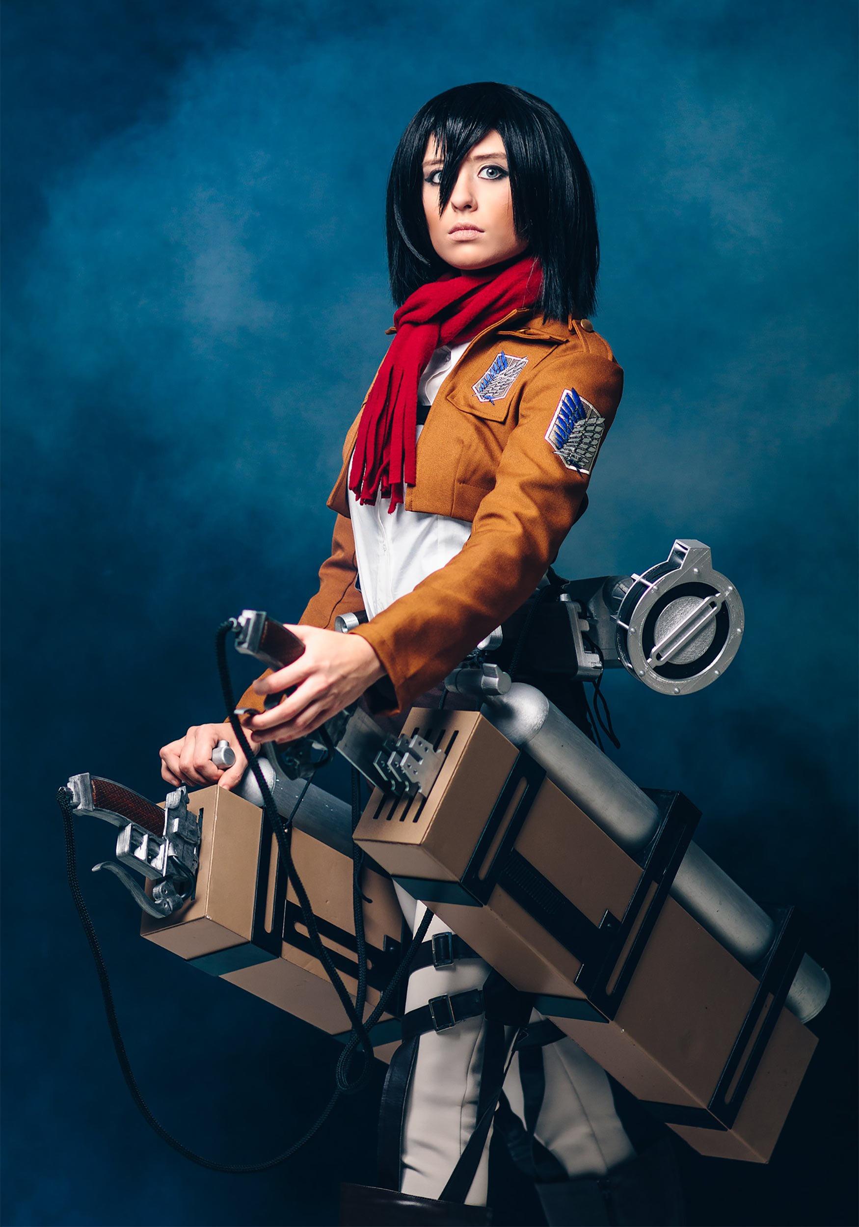 Dead Girl In Love Wallpaper Deluxe Attack On Titan Mikasa Costume