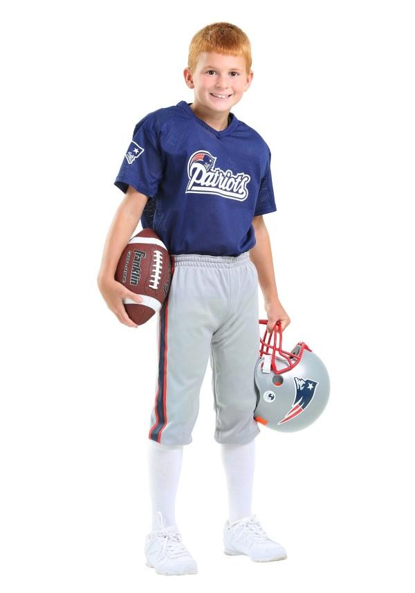 Kids Nfl Patriots Uniform Costume
