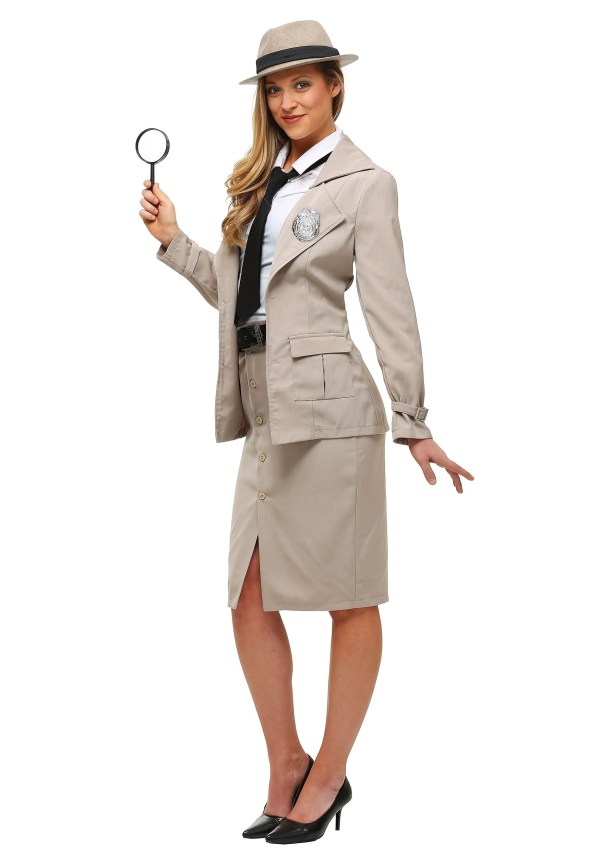 Adult Private Eye Size Costume