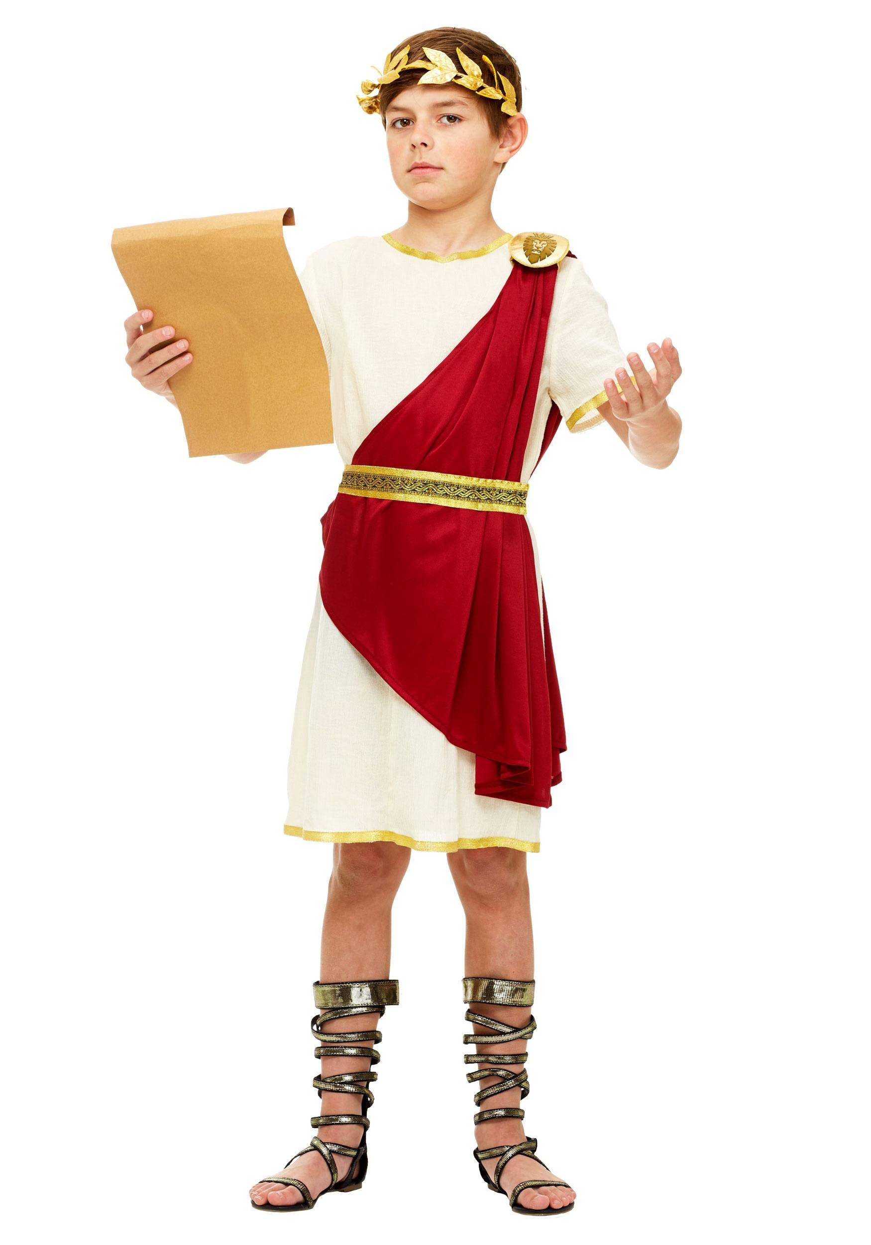 Roman Senator Costume For Boys