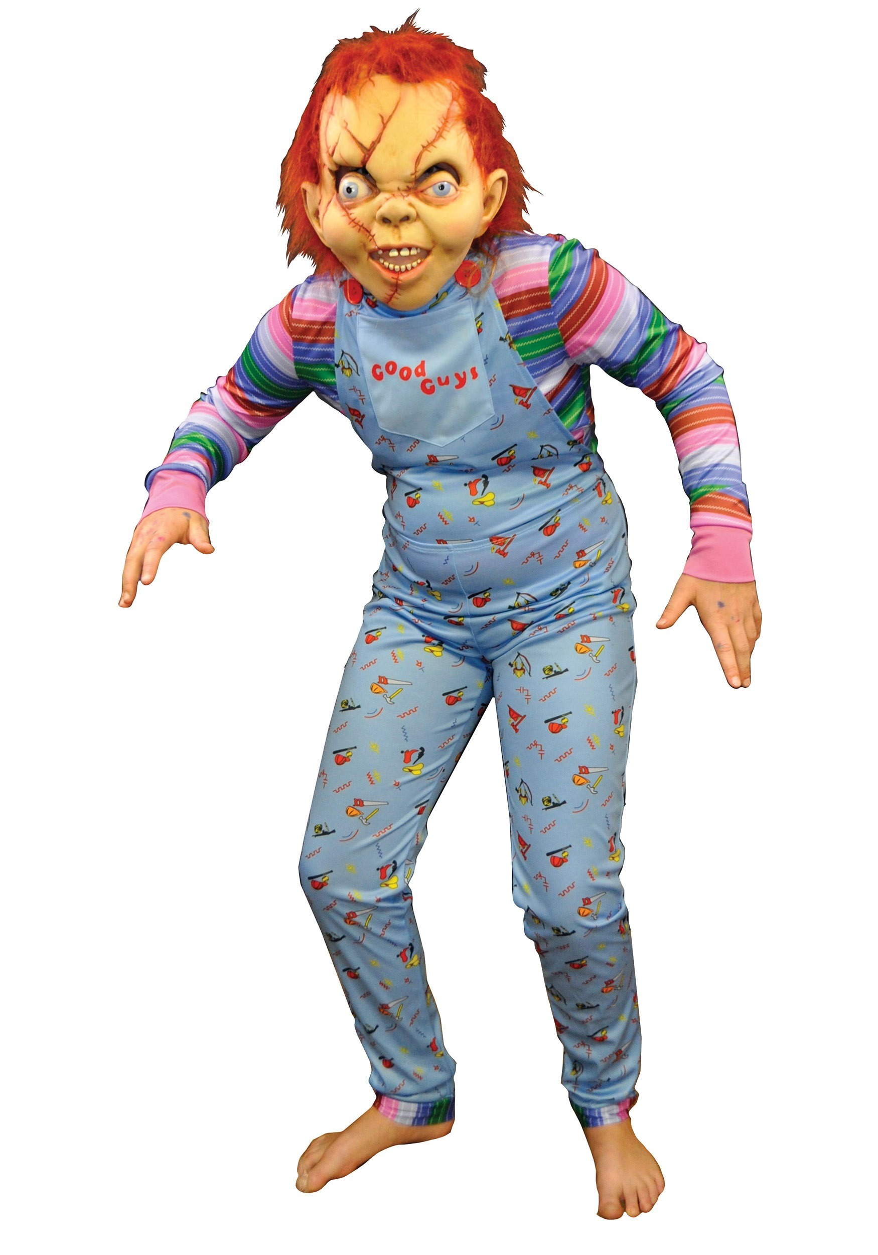 Chucky Costume For Adults