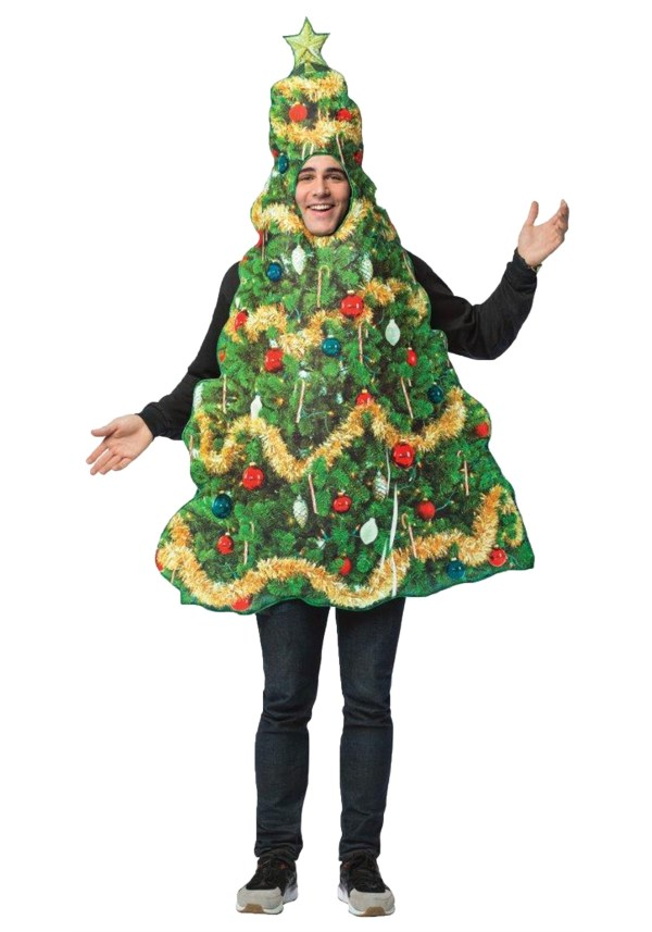 Real Christmas Tree Adult Costume