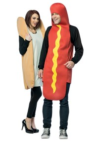 Hot Dog and Bun Costume