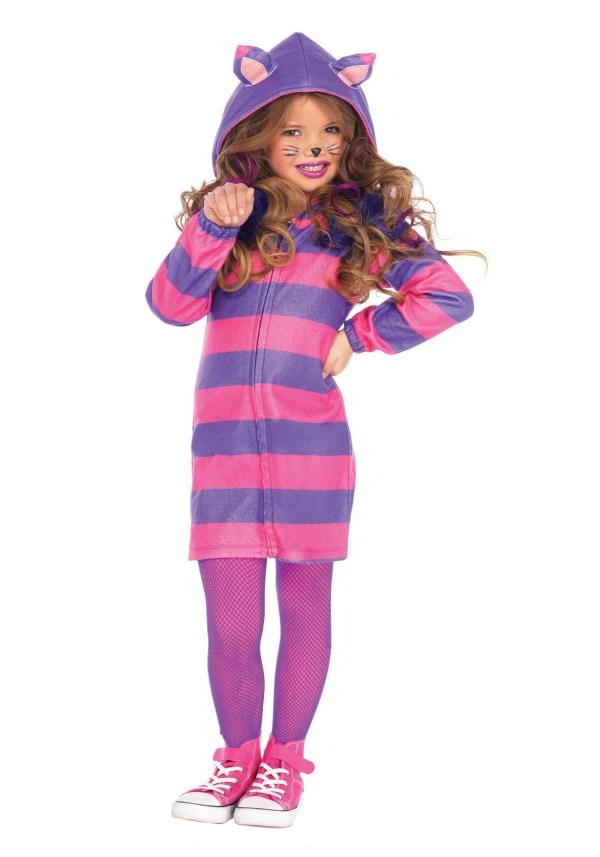 Girl' Cheshire Cat Cozy Costume