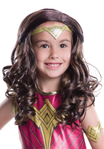 Dawn of Justice Child Wonder Woman Wig - $14.99