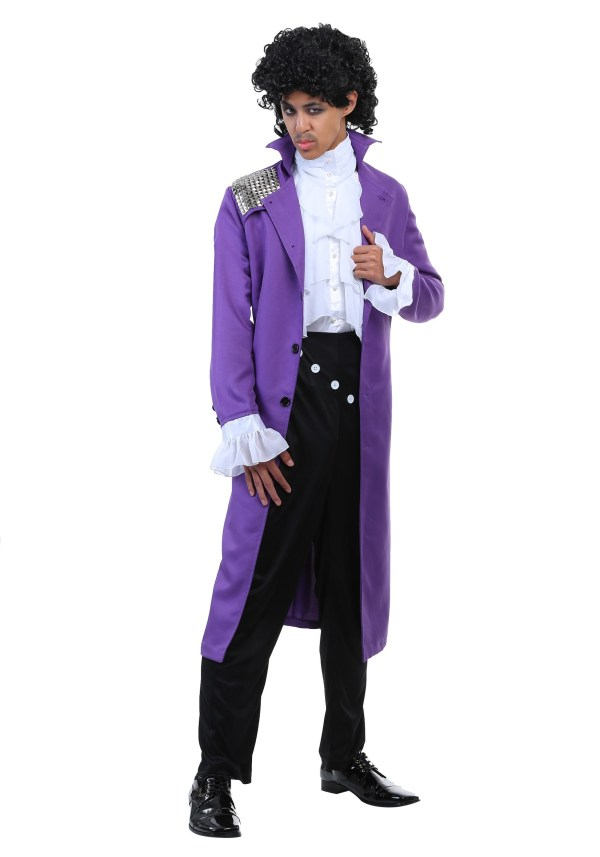 Purple Rock Legend Costume Men