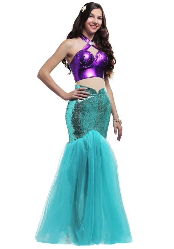 Mystical Mermaid Size Costume Women