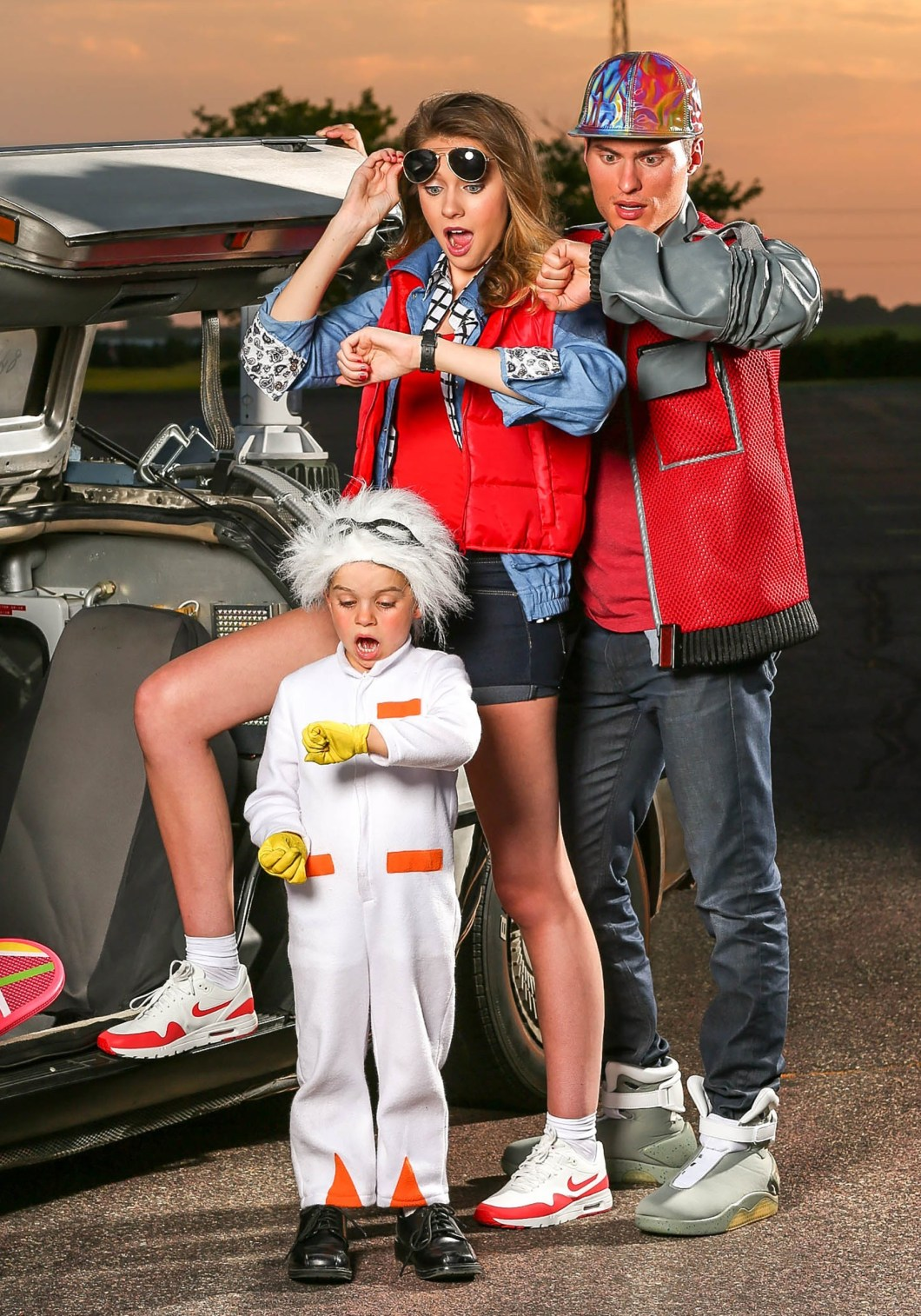 marty mcfly and doc halloween costume | hallowen