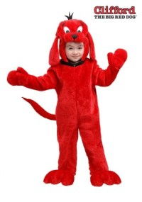 Clifford the Big Red Dog Costume for Toddlers