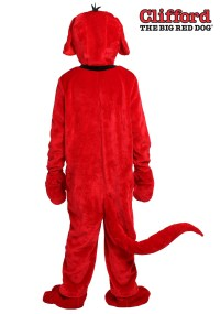 Clifford the Big Red Dog Adult Costume | eBay