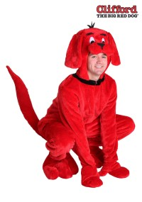 Clifford the Big Red Dog Plus Size Costume for Adults 2X 3X