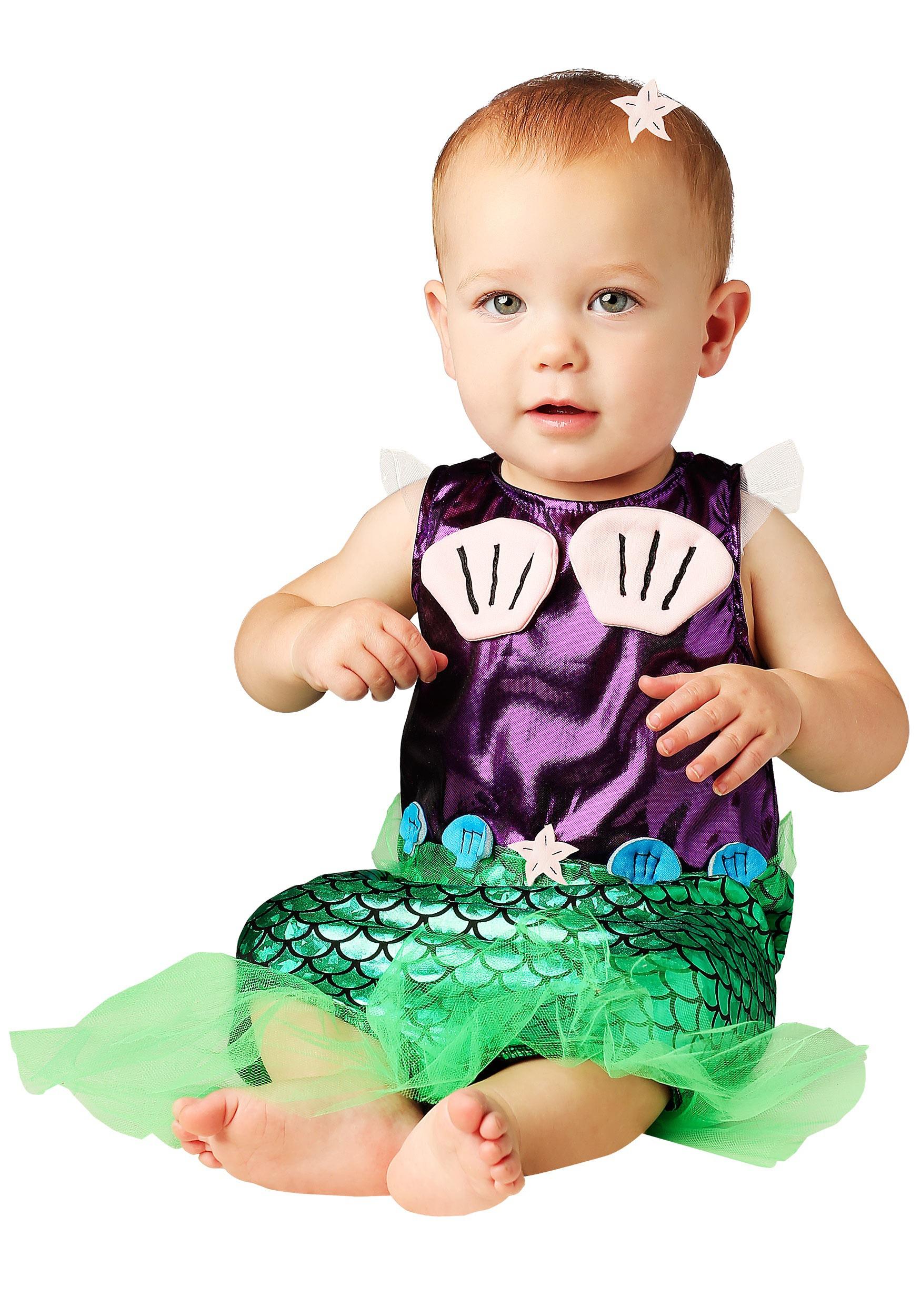 Infant Mermaid Costume For Girls