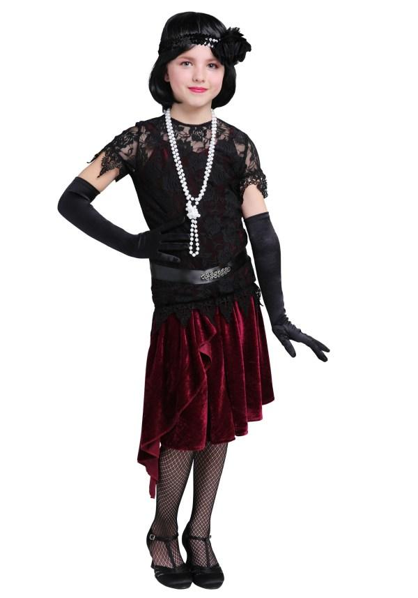 Flapper Girl Halloween Costume