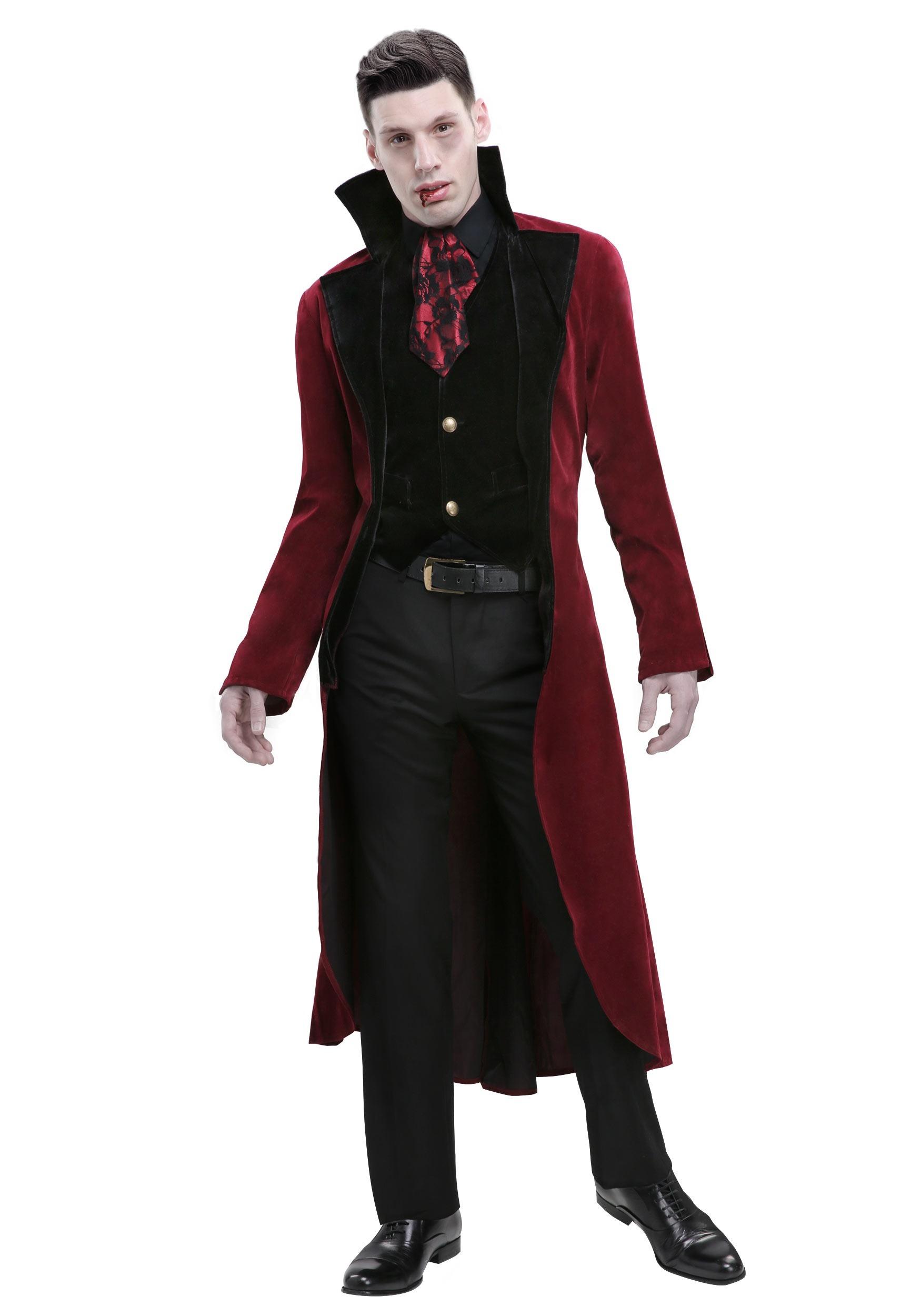 Sexy Male Vampire Costume : vampire, costume, Men's, Dreadful, Vampire, Costume