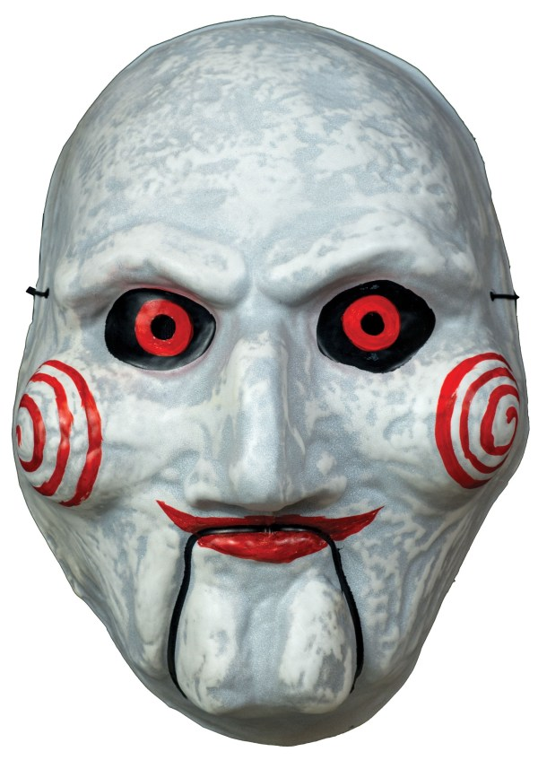 Billy Puppet Vacuform Adult Mask