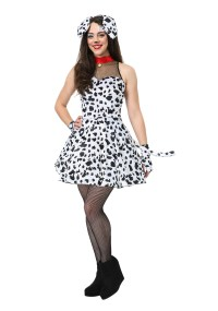 Flirty Dalmatian Costume for Women