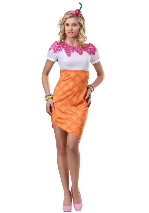 Ice Cream Cone Costume Women