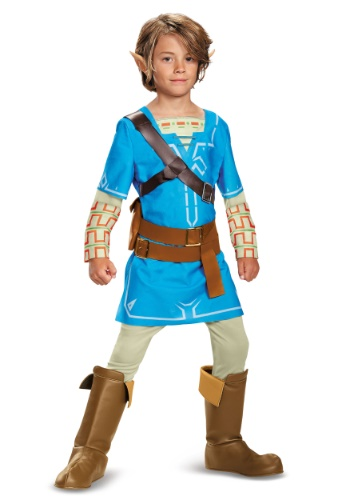 Breath of the Wild Deluxe Link Boys Costume